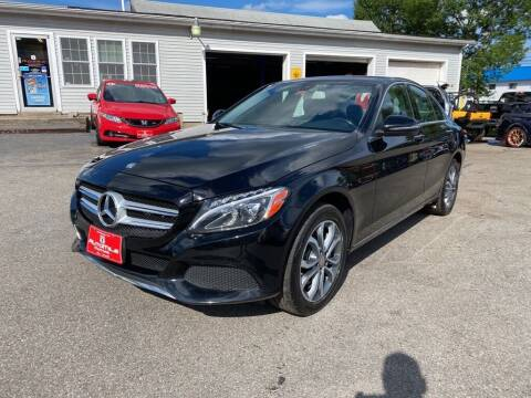 2016 Mercedes-Benz C-Class for sale at AutoMile Motors in Saco ME