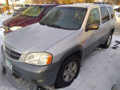 2002 Mazda Tribute for sale at Continental Auto Sales in White Bear Lake MN