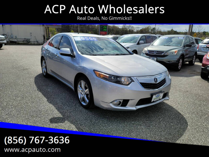 2012 Acura TSX for sale at ACP Auto Wholesalers in Berlin NJ