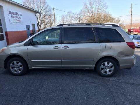 2005 Toyota Sienna for sale at GRAHAM'S AUTO SALES & SERVICE INC in Ephrata PA