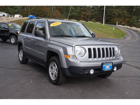 2015 Jeep Patriot for sale at VILLAGE MOTORS in South Berwick ME
