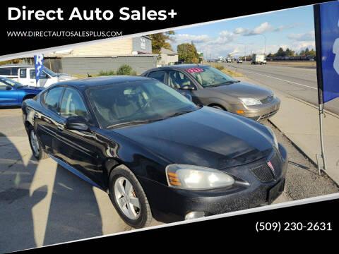 2008 Pontiac Grand Prix for sale at Direct Auto Sales+ in Spokane Valley WA