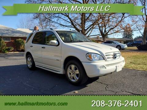 2005 Mercedes-Benz M-Class for sale at HALLMARK MOTORS LLC in Boise ID