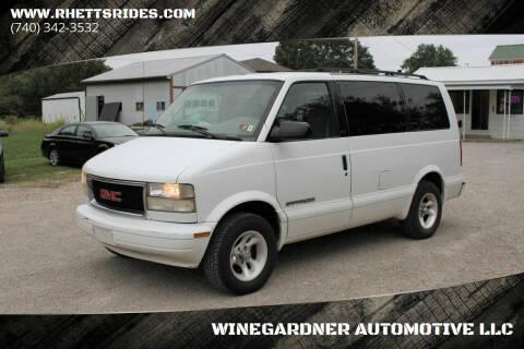 1999 GMC Safari for sale at WINEGARDNER AUTOMOTIVE LLC in New Lexington OH
