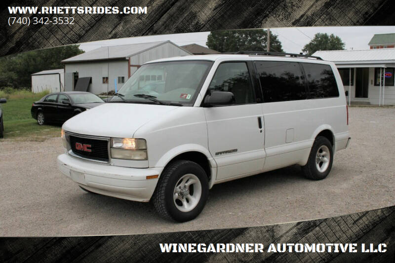 1999 GMC Safari for sale at WINEGARDNER AUTOMOTIVE LLC in New Lexington OH