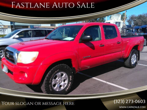 2005 Toyota Tacoma for sale at Fastlane Auto Sale in Los Angeles CA