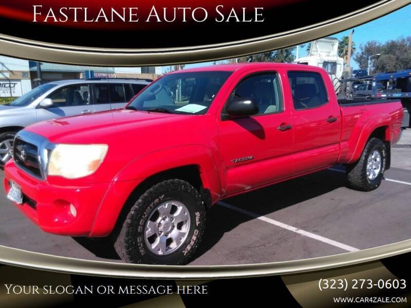 2005 Toyota Tacoma for sale at Fastlane Auto Sale in Los Angeles CA