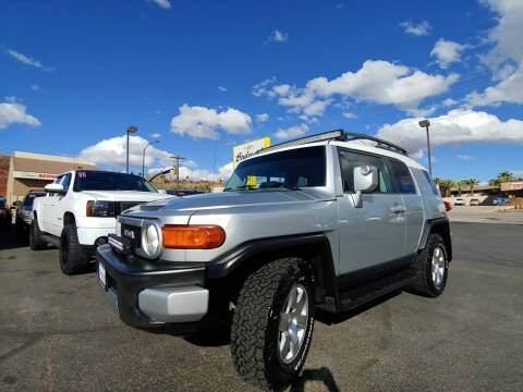 2007 Toyota FJ Cruiser for sale at Boulevard Motors in St George UT