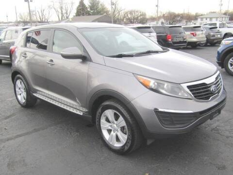 2013 Kia Sportage for sale at Cj king of car loans/JJ's Best Auto Sales in Troy MI