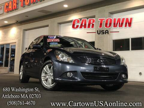 2013 Infiniti G37 Sedan for sale at Car Town USA in Attleboro MA