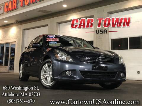 2013 Infiniti G37 Sedan for sale at Car Town USA in Attleboro MA