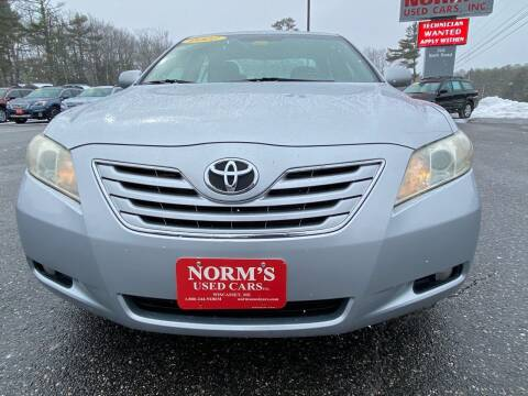 2007 Toyota Camry for sale at NORM'S USED CARS INC in Wiscasset ME