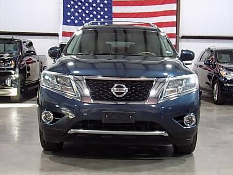 2013 Nissan Pathfinder for sale at Texas Motor Sport in Houston TX