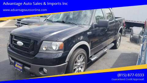 2007 Ford F-150 for sale at Advantage Auto Sales & Imports Inc in Loves Park IL