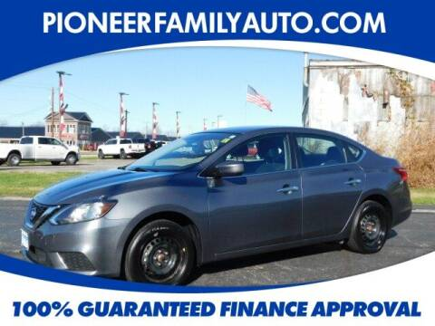 2019 Nissan Sentra for sale at Pioneer Family auto in Marietta OH