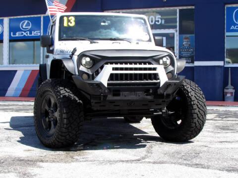 2013 Jeep Wrangler for sale at Orlando Auto Connect in Orlando FL