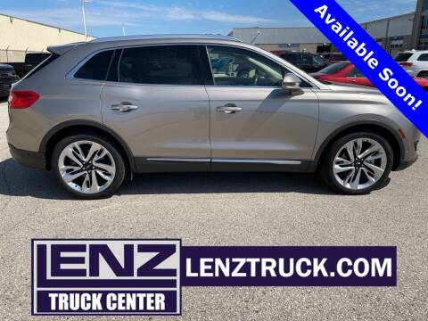 2018 Lincoln MKX for sale at LENZ TRUCK CENTER in Fond Du Lac WI