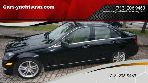 2012 Mercedes-Benz C-Class for sale at Cars-yachtsusa.com in League City TX