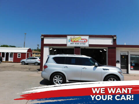 2012 Infiniti QX56 for sale at Pork Chops Truck and Auto in Cheyenne WY