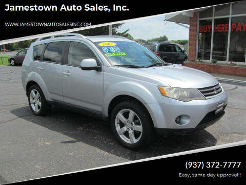 2007 Mitsubishi Outlander for sale at Jamestown Auto Sales, Inc. in Xenia OH