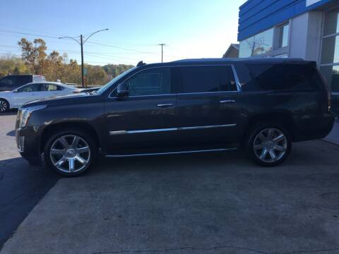 2016 Cadillac Escalade ESV for sale at Brian Jones Motorsports Inc in Danville VA