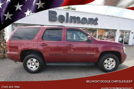 2007 Chevrolet Tahoe for sale at BELMONT DODGE CHRYSLER JEEP in Barnesville OH