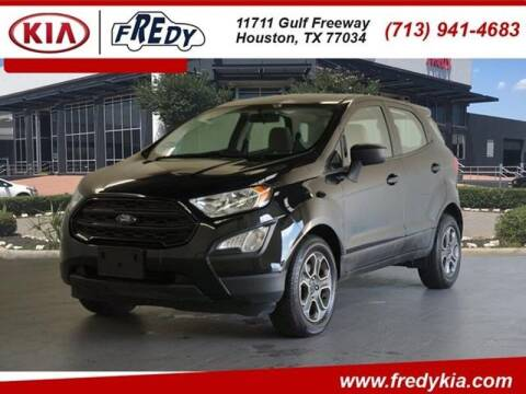 2018 Ford EcoSport for sale at FREDYS CARS FOR LESS in Houston TX