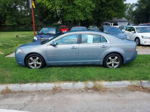 2009 Chevrolet Malibu for sale at D & D Auto Sales in Topeka KS