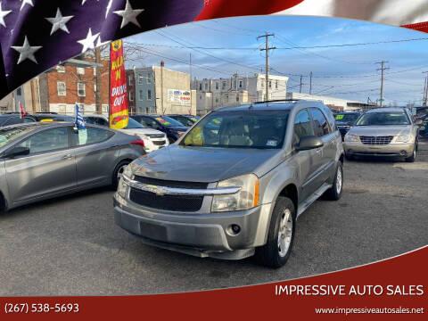 2005 Chevrolet Equinox for sale at Impressive Auto Sales in Philadelphia PA