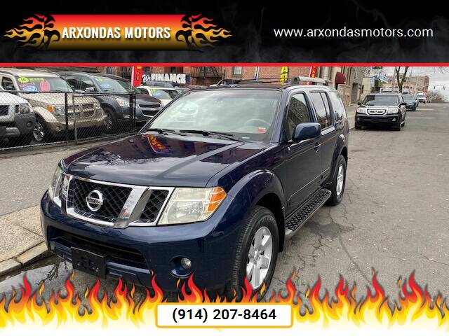 2008 Nissan Pathfinder for sale at ARXONDAS MOTORS in Yonkers NY