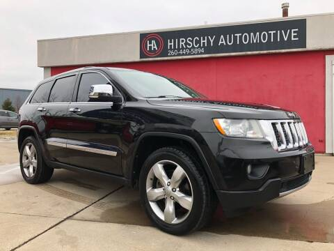 2012 Jeep Grand Cherokee for sale at Hirschy Automotive in Fort Wayne IN