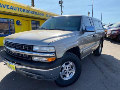 1999 Chevrolet Silverado 1500 for sale at New Wave Auto Brokers & Sales in Denver CO