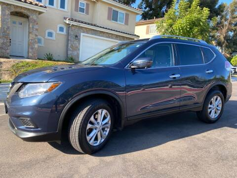 2016 Nissan Rogue for sale at CALIFORNIA AUTO GROUP in San Diego CA