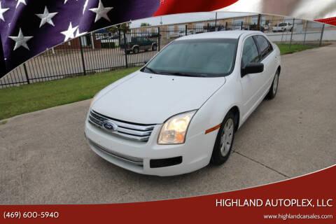 2009 Ford Fusion for sale at Highland Autoplex, LLC in Dallas TX