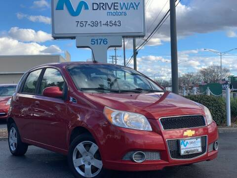 2011 Chevrolet Aveo for sale at Driveway Motors in Virginia Beach VA