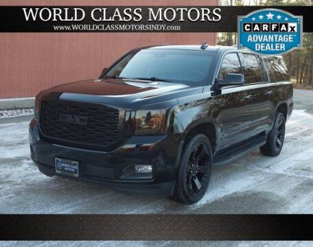2018 GMC Yukon XL for sale at World Class Motors LLC in Noblesville IN