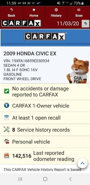 2009 Honda Civic EX 4dr Sedan 5A - Hampshire IL