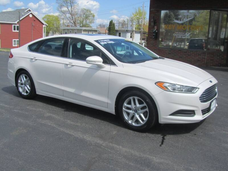 2013 Ford Fusion for sale at Key Motors in Mechanicville NY