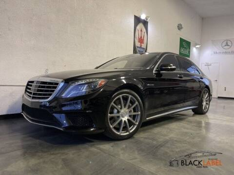 2014 Mercedes-Benz S-Class for sale at BLACK LABEL AUTO FIRM in Riverside CA