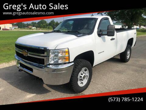 2014 Chevrolet Silverado 2500HD for sale at Greg's Auto Sales in Poplar Bluff MO