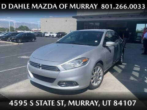 2013 Dodge Dart for sale at D DAHLE MAZDA OF MURRAY in Salt Lake City UT