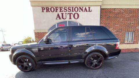 2012 Land Rover Range Rover Sport for sale at Professional Auto Sales & Service in Fort Wayne IN