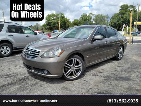 2007 Infiniti M35 for sale at Hot Deals On Wheels in Tampa FL
