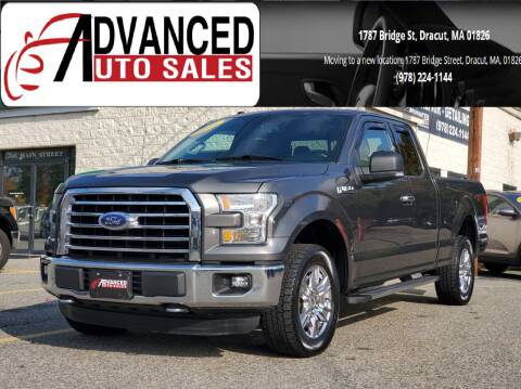 2016 Ford F-150 for sale at Advanced Auto Sales in Dracut MA