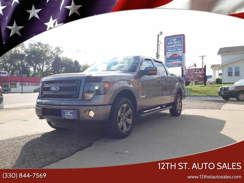 2013 Ford F-150 for sale at 12th St. Auto Sales in Canton OH