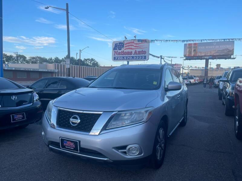 2014 Nissan Pathfinder for sale at Nations Auto Inc. II in Denver CO