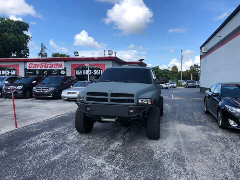 2001 Dodge Ram Pickup 2500 for sale at CARSTRADA in Hollywood FL