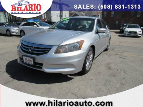 2012 Honda Accord for sale at Hilario's Auto Sales in Worcester MA