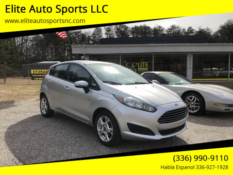 2014 Ford Fiesta for sale at Elite Auto Sports LLC in Wilkesboro NC