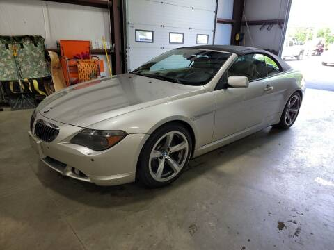 2007 BMW 6 Series for sale at Hometown Automotive Service & Sales in Holliston MA